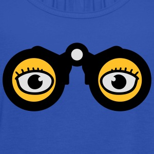 Magnifying Glass Eyes T-shirts - Dame tanktop fra Bella