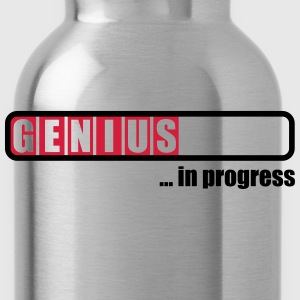 Genius in progress T-shirts - Drikkeflaske