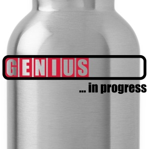 Genius in progress T-shirts - Vattenflaska