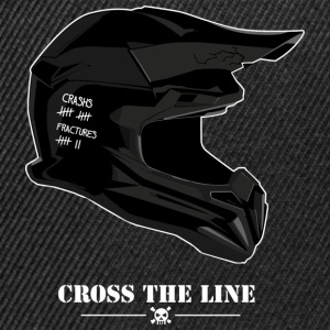 Cross the line - Casquette snapback