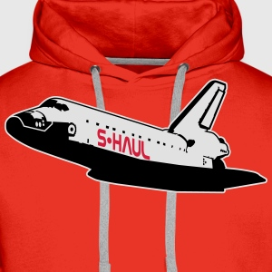 Space Shuttle: S-Haul (sarcastic) T-Shirts - Men's Premium Hoodie