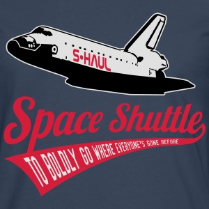Space Shuttle: S-Haul / To Boldly Go (sarcastic) T-Shirts - Men's Premium Longsleeve Shirt