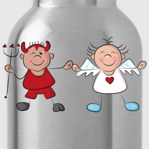 Angel and devil T-Shirts - Water Bottle