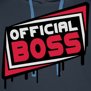 Official Boss T-shirts - Premiumluvtröja herr