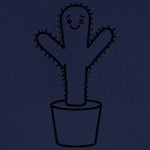 Happy Cactus T-Shirts - Baseballkappe