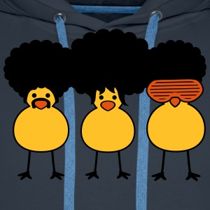 Funky Chicks Tee shirts - Sweat-shirt à capuche Premium pour hommes
