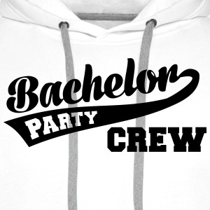Bachelor Party Crew T-Shirts - Männer Premium Hoodie