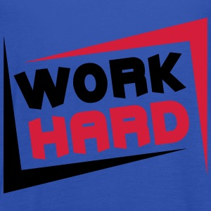 Work Hard T-shirts - Vrouwen tank top van Bella