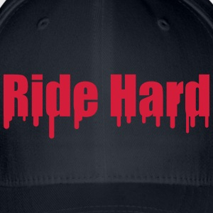 Ride Hard T-shirts - Flexfit baseballcap
