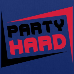 Party Hard T-shirts - Tygväska