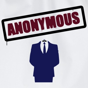 Anonymous T-Shirts - Drawstring Bag