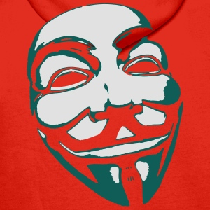 Anonymous Mask T-Shirts - Men's Premium Hoodie