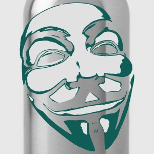 Anonymous Mask T-Shirts - Water Bottle