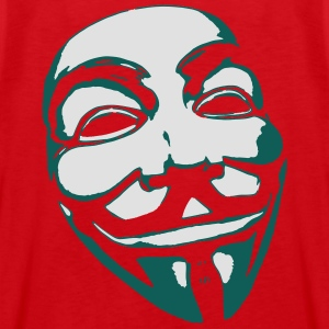 Anonymous Mask T-Shirts - Men's Premium Tank Top