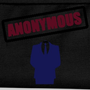 Anonymous Schild T-Shirts - Kinder Rucksack