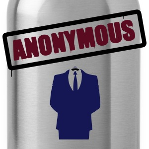 Anonymous Schild T-Shirts - Trinkflasche