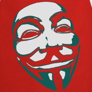 Anonymous Maske T-Shirts - Kochschürze