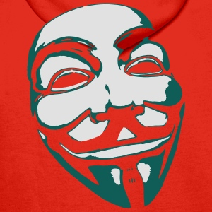 Anonymous Mask T-shirts - Mannen Premium hoodie