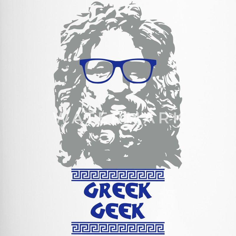 Greek Geek - Mug thermos