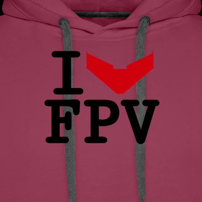I Love FPV Hoodie