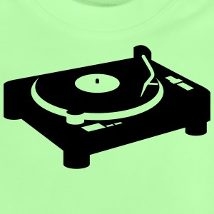 Turntable turntable DJ CD Vinyl Shirts - Baby T-Shirt