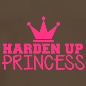 HARDEN UP PRINCESS with a royal crown Bags  - Men's Premium T-Shirt