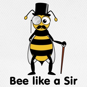 bee like a sir T-Shirts - Baseballkappe