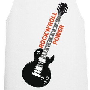 rock'n'roll_ guitar 2 Long sleeve shirts - Cooking Apron