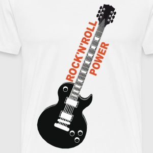 rock'n'roll_ guitar 2 Long sleeve shirts - Men's Premium T-Shirt
