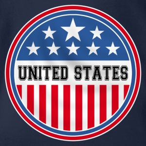 united states of america Tee shirts - Body bébé bio manches courtes