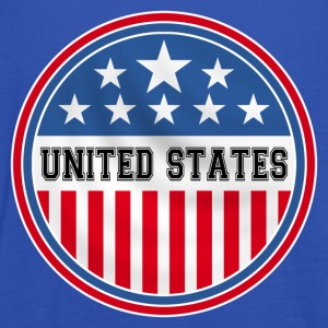 united states of america Shirts - Women's Tank Top by Bella