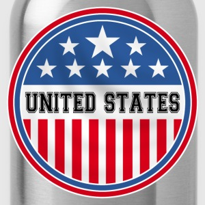 united states of america Shirts - Water Bottle