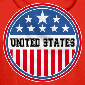 united states of america Tee shirts - Sweat-shirt à capuche Premium pour hommes