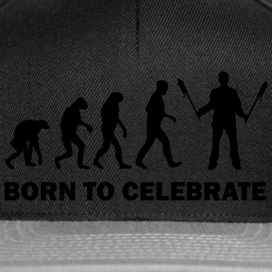 born to celebrate T-Shirts - Snapback Cap