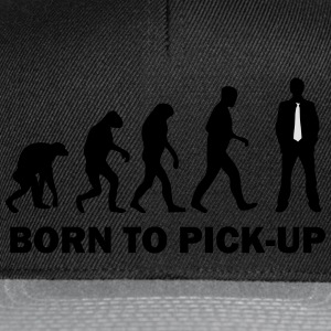 born to pick up T-Shirts - Snapback Cap