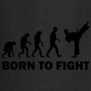 born to fight T-Shirts - Kochschürze