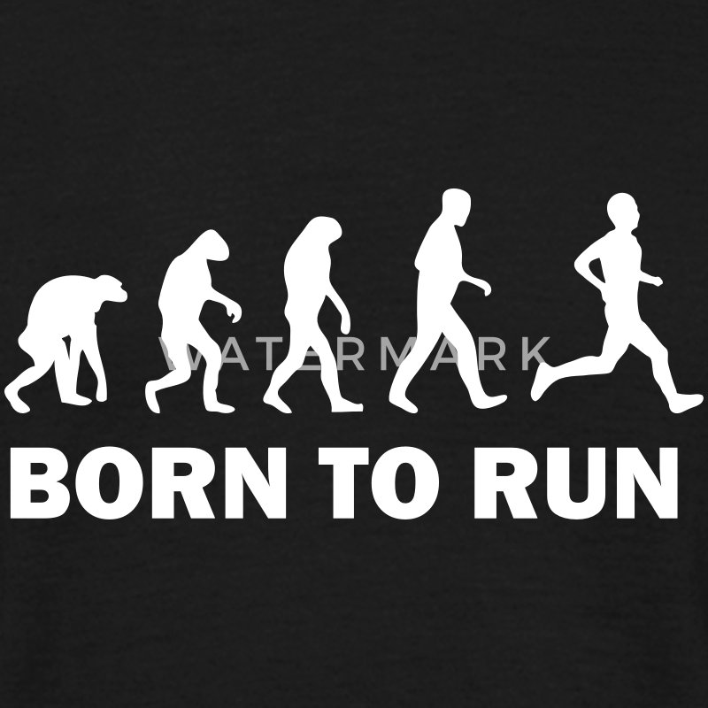 born to run T-Shirts - Männer T-Shirt
