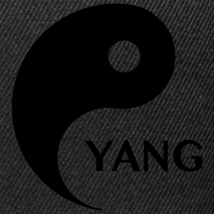 Yang looking for Yin, Part 2, tao, dualities Tee shirts - Casquette snapback