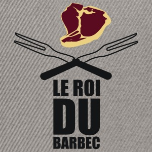 T-Shirt Roi du Barbecue - Casquette snapback