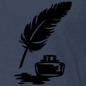 Quill Pen and Ink Pot Hoodies & Sweatshirts - Men's Premium Longsleeve Shirt