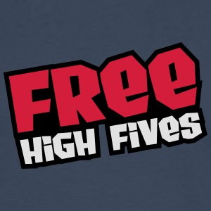 Free High Fives Tee shirts - T-shirt manches longues Premium Homme