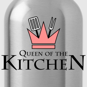 Queen Of The Kitchen T-shirts - Drikkeflaske