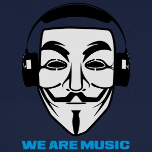 ANONYMOUS WE ARE MUSIC - Casquette classique