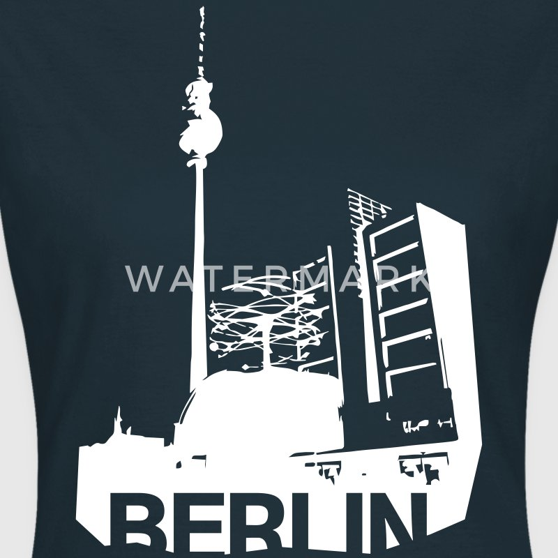 Alexanderplatz in Berlin Shirt for Girls - Frauen T-Shirt