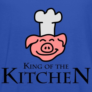 King Of The Kitchen T-shirts - Vrouwen tank top van Bella