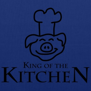 King Of The Kitchen Camisetas - Bolsa de tela