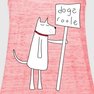 Dogs Rule T-Shirts - Women's Tank Top by Bella