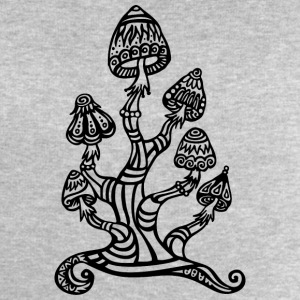 Magic mushrooms, wonderland, psychedelic, lsd Tee shirts - Sweat-shirt Homme Stanley & Stella