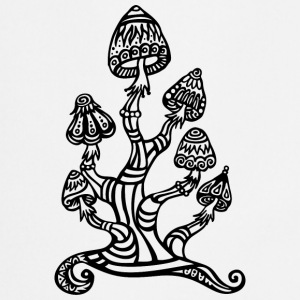 Magic mushrooms, wonderland, psychedelic, lsd T-shirts - Forklæde
