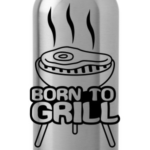 Born To Grill T-shirts - Vattenflaska